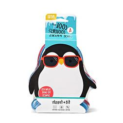 Set of 4 Cool Coolers Slim Ice Packs Lunch Boxes Bags Pengui