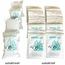Set Of 48 Cooler Shock Lunch Bag Size Ice Packs For Boxes An