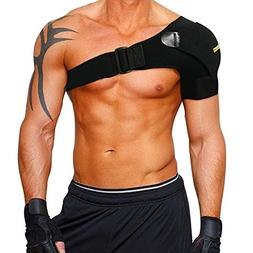 Shoulder Stability Brace with Pressure Pad by Babo Care - Li