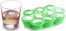 Silicone Ice Cube Tray With Lid,Container for Homemade Bab