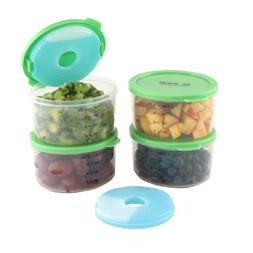 Fit & Fresh Fresh Starts 1-Cup Chilled Containers with Remov