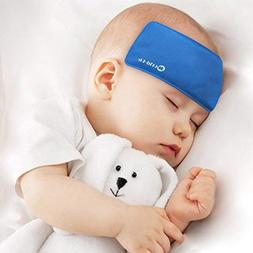 WORLD-BIO Fever Cooling Pad & Reusable Ice Gel Eye Mask for