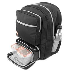 Fitmark Transporter Backpack with Removable Meal Prep Insula