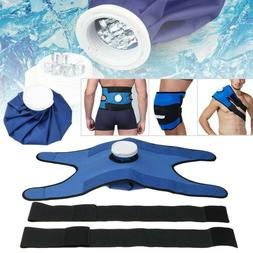 US Reusable Ice Bag Pack Wrap Pain Relief Cold Therapy For K