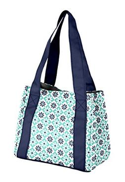 Fit & Fresh Venice Insulated Lunch Bag with Reusable Ice Pac