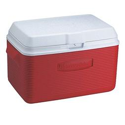 Rubbermaid Victory Cooler 34 Qt Red