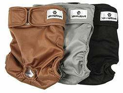 Pet Parents Washable Dog Diapers  of Durable Doggie Diapers,