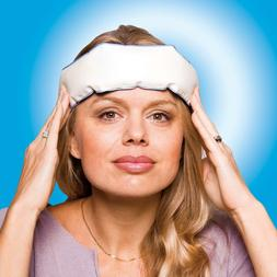 Wearable Ice Pack Band for Migraine Tension Relief Sinus Hea