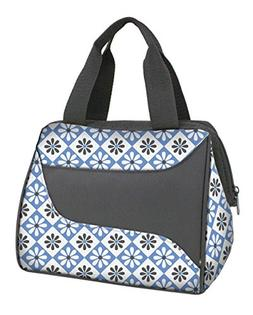 Fit & Fresh Women's Downtown Insulated Lunch Bag with Zipper