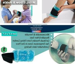 Wrist and Ankle Gel Pack – Reusable Heat Ice Packs for Inj