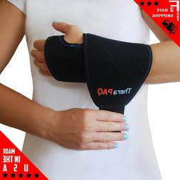 Wrist Ice Pack Wrap By TheraPAQ: Hand Support Brace With Reu