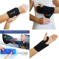 Wrist Ice Pack Wrap By Therapaq Hand Support Brace W Reusabl