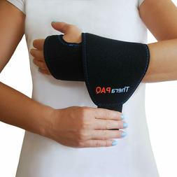 TheraPAQ Wrist Ice Pack Wrap Hand Support Brace with Reusabl